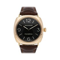 Panerai Radiomir Or rose 45mm Noir Arabes