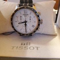Tissot Quickster occasion 42mm Argent Chronographe Date Tachymètre Textile
