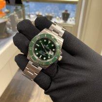 Rolex Submariner Date Stahl 40mm Grün Keine Ziffern Schweiz, Basel