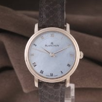 Blancpain Villeret Ultra-Slim White gold 29mm Mother of pearl Roman numerals
