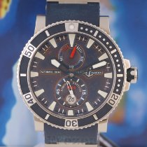 Ulysse Nardin Hammerhead Shark Titanium 45mm Blue No numerals
