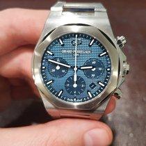 Girard Perregaux Laureato occasion 42mm Bleu Chronographe Date Acier