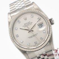 Rolex Datejust Acciaio 36mm Argento