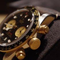 Tudor Black Bay Chrono Gold/Stahl 41mm Schwarz Keine Ziffern