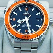 Omega Seamaster Planet Ocean Stål 45.5mm Svart Arabisk