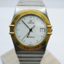 Omega 1212.30.00 Gold/Steel Constellation Quartz 35mm pre-owned