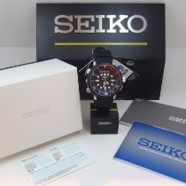 Seiko Prospex Сталь 48mm Чёрный Без цифр