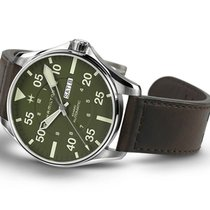 Hamilton Khaki Pilot Steel 46mm Green United States of America, Pennsylvania, Philadelphia