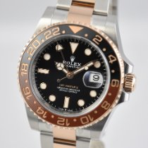 Rolex GMT-Master II Gold/Steel 40mm Black No numerals United States of America, Ohio, Mason