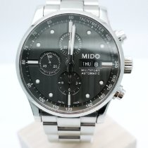 Mido Multifort Chronograph Steel 44mm Grey