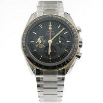 Omega Speedmaster Professional Moonwatch Stål 42mm Svart Inga siffror