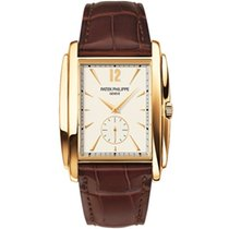 Patek Philippe Gondolo Yellow gold 33.4mm White Arabic numerals