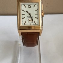 Jaeger-LeCoultre Grande Reverso Ultra Thin Duoface Rose gold 46.8mm Silver