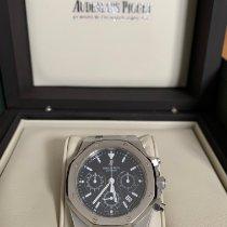 Audemars Piguet Royal Oak Chronograph Acier Bleu France, PARIS