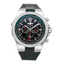 Breitling Bentley GMT Сталь 49mm Чёрный Без цифр