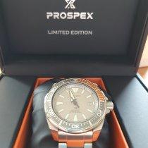 Seiko Prospex Acier 44mm Gris Sans chiffres