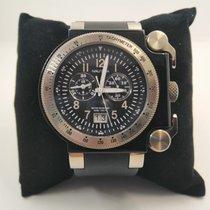 Nautica Titanium 50mm Quartz Nautica Chronograph Titanium case. A39507 WR100 new