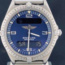 Breitling Aerospace Titanium 40mm Blauw