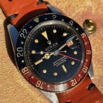 Rolex GMT-Master Otel 38mm Negru Fara cifre