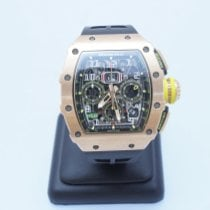 Richard Mille Rose gold 50mm Automatic RM011 new