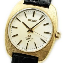 Seiko Grand Seiko 4520-8010 Befriedigend Gelbgold 36mm Handaufzug