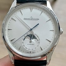 Jaeger-LeCoultre Master Ultra Thin Moon Steel 39mm Silver No numerals United States of America, Illinois, Chicago