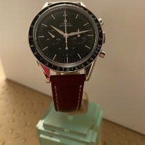 Omega Speedmaster Professional Moonwatch Steel 39.7mm Black No numerals
