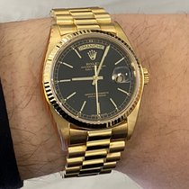 Rolex neu Automatik 36mm Gelbgold Saphirglas