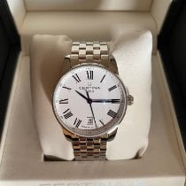 Certina DS Podium Steel 39mm White Roman numerals