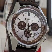 Fossil Steel 45mm Quartz 861506 pre-owned