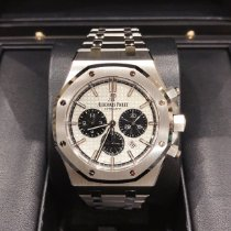 Audemars Piguet Royal Oak Chronograph Сталь 41mm Белый Без цифр