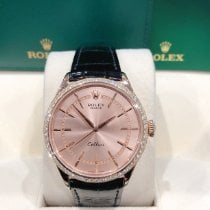 Rolex Cellini Time M50705RBR-0010 New Rose gold 39mm Automatic