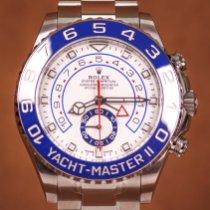 Rolex Yacht-Master II Çelik 44mm Beyaz Rakamsız Türkiye, Istanbul