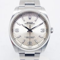 Rolex Oyster Perpetual 36 Steel 36mm Silver Arabic numerals Singapore, Singapore
