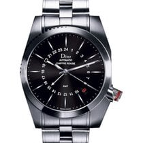 Dior Chiffre Rouge Stal 39mm Czarny