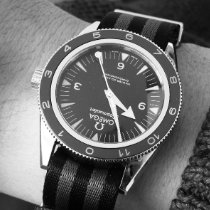 Omega Seamaster 300 Stål 41mm Sort Arabertal