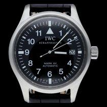 IWC Pilot Mark Acier 38mm Noir Arabes