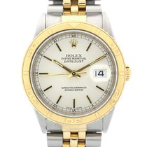 Rolex Datejust Turn-O-Graph Or/Acier 36mm Blanc France, Toulouse