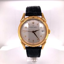 Eterna Rose gold Automatic Silver (solid) Arabic numerals 32mm new 1948