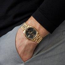Rolex Day-Date 36 Geelgoud 36mm Zwart Nederland, Amsterdam
