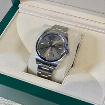 Rolex Oyster Perpetual 39 Steel 39mm Grey United States of America, New York, New York