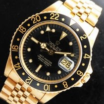 Rolex GMT-Master Yellow gold 42mm Black