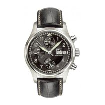IWC Pilot Spitfire Chronograph Steel 39mm Black Arabic numerals United States of America, New York, New York