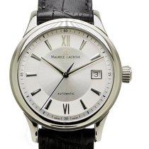 Maurice Lacroix Les Classiques Date Steel 38mm Silver Roman numerals