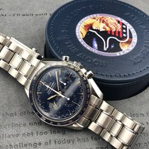 Omega Speedmaster Professional Moonwatch Steel 42mm Blue No numerals United States of America, California, Sunnyvale