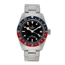 Tudor Black Bay GMT Steel 41mm Black No numerals United States of America, Massachusetts, Andover
