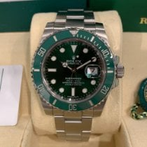 Rolex Submariner Date Steel 40mm Green No numerals United States of America, Texas, Dallas