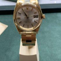Rolex Oyster Perpetual Date Gelbgold 34mm Gold Keine Ziffern Deutschland, mönchengladbach