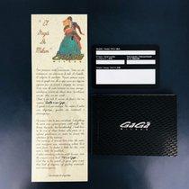 Gaga Milano Gult gull 45mm Automatisk 6014.01S ny