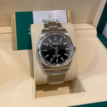 Rolex Oyster Perpetual 39 Steel 39mm Blue No numerals United States of America, Florida, Miami